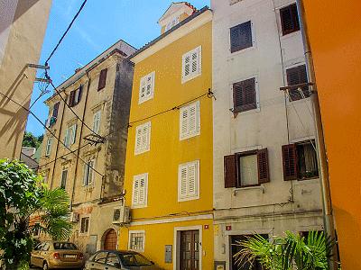 Een blik op één van de 3 appartementen