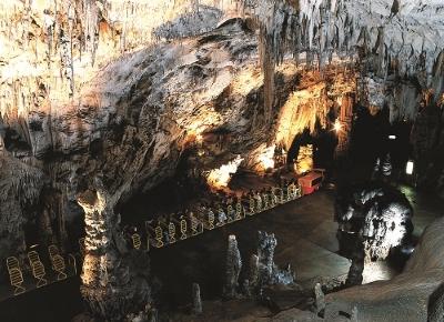 Een blik op de grotten van postojna & het treintje
