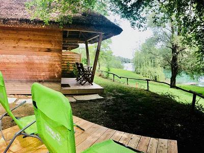 Blik op Camping Bela Krajina