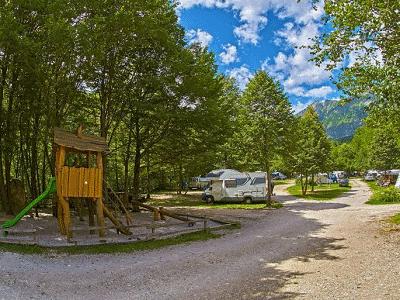 Een blik op de camping