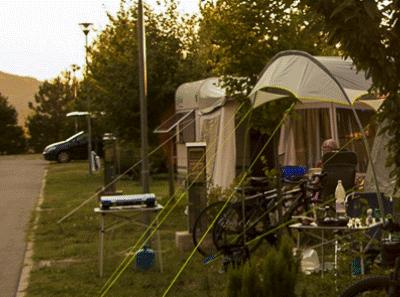Blik op Camping Tura