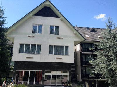 blik op Hotel Kompas Bled