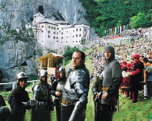 Het kasteel & de ridders van de ronde tafel